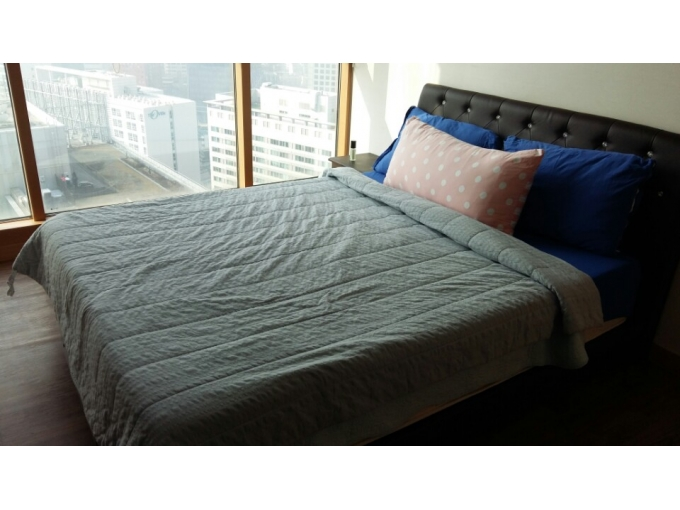 korea furniture rental Queen size bed